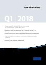 Quartalsmitteilung Q1 2018