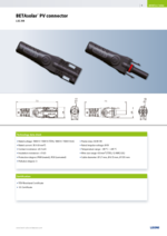 BETAsolar® PV connector