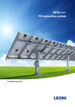 BETAsolar® PV connection system