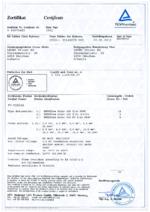BETAflam® Solar 125 flex TÜV R60075483 certificate