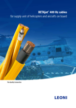 BETAjet® 400 Hz cables