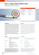 BETAtrans® Silitherm FRNC-FF EN50382-2 3600V