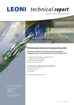 Thermocouple extension & compensating cable