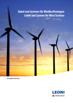 Cables and systems for wind turbines