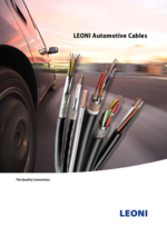 LEONI automotive cables