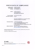 BETAflam® Solar 125 flex UL EN UL file E300485
