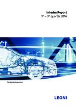 Interim report 1st–3rd quarter 2016