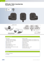 BETAsolar®  PsBo-X Junction box