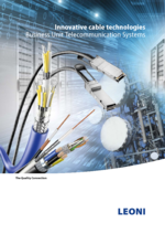 Innovative cable technologies