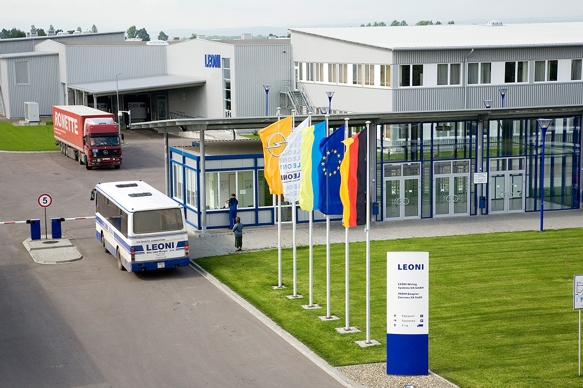 LEONI Wiring Systems UA GmbH, Stryi – LEONI