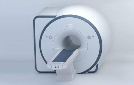 Magnetic resonance tomography device