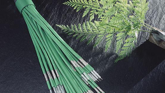 Leoni multi-coax cables in the 1960s