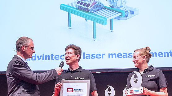 """""""MM Award"""" für 6D-Kalibriersystem von Leoni"""