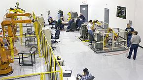 Betriebsinterne Roboterzellen