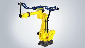 El sistema de gestión de cables para robot de LEPS mejora el tiempo de utilización para fabricantes de tarimas inteligentes