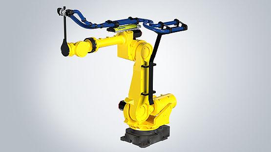 El sistema de gestión de cables para robot de LEONI mejora el tiempo de utilización para fabricantes de tarimas inteligentes