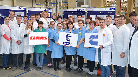 Successful series production in Russia