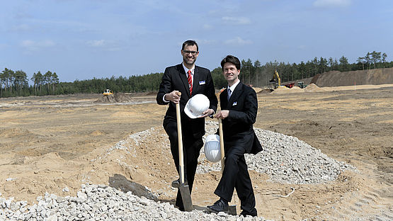 """Factory of the Future"": Official start of construction"