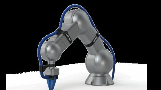 LEONI B-Flex cable management system for robots