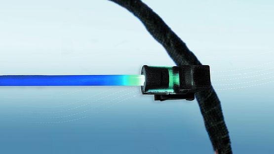 Leoni Konzeptstudie: LED Beleuchtungskomponente