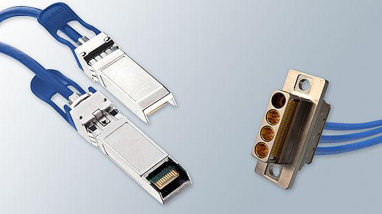 10 Gbit/s-Lösung von Leoni