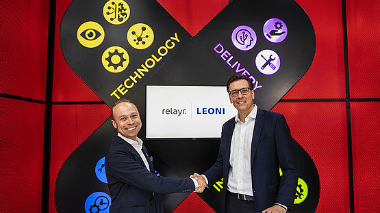 Strategic partnership of Leoni and relayr