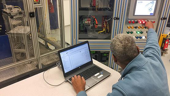 Automation Training for Maintenance Technicians at Automotive Plant
