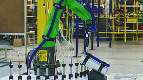 LEONI B-Flex Brings True Collaborative Cable Management to Cobot Models